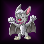 I'm the terror that flaps at night by Hukley