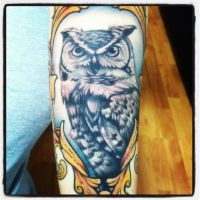 owl arm by sliceman424