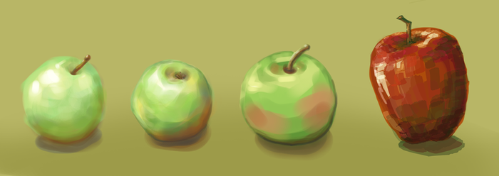 Apples by piane-piane