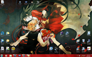 NEW DESKTOP pandora Hearts by Wonder-chan