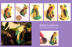 Leafeon - GIFT by Bittythings