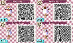AC New Leaf - Design #8 'Germany World Cup Jersey' by xNiciCupcake