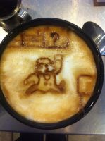 Mario Latte by Coffee-Katie