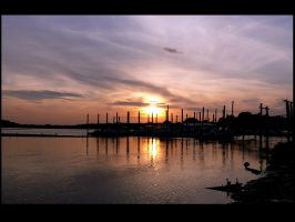 Sunset Head of the Harbor by javv556