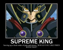 Supreme King Motivational by hybridchick
