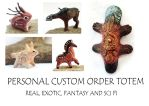 PERSONAL CUSTOM ORDER ANIMAL FIGURINES by hontor
