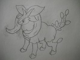 Fakemon Rambranch by EpicFail222