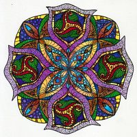 August Mandala 2 by Artwyrd
