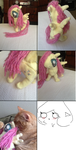 my first mlp fluttershy doll ^//w//^ by scarlet-colored-moon