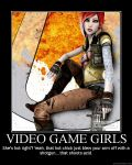 Video Game Girls by Zylo-the-Wolfbane