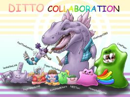 Ditto Collaboration-Collection by blue-hugo