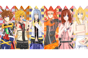 KH Bookmarks 07 by tehlam
