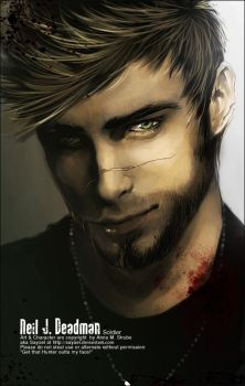 L4D OC - Neil J Deadman by Sayael