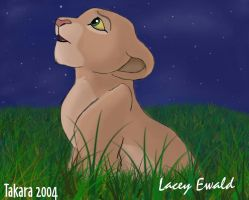 Nala consults the stars by TaksArt
