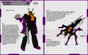 INSECTICON PLUNDER by F-for-feasant-design