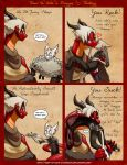 How to Date a Dragon - 72 - Feeding - vore version by BooksAndDragons