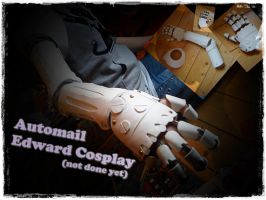 Automail -Edward Elric Cosplay by ShadowMisha