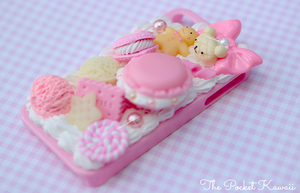 Think Pink Decoden by ThePocketKawaii