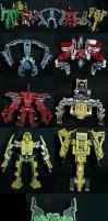 ROTF Constructicons Bot Modes by Solrac333