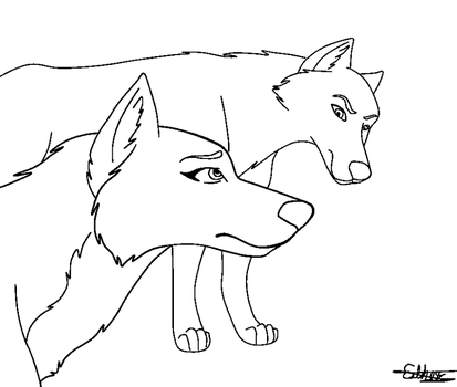Female Wolf Base Deviantart