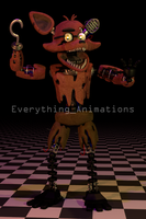 Withered Foxy by EverythingAnimations