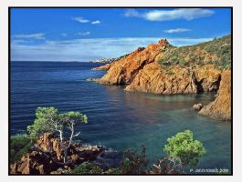 esterel coast by bracketting94