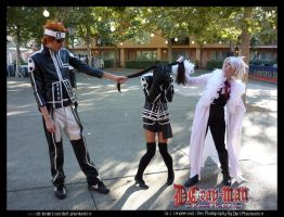 Lavi, Lenalee and Allen by darkphantomhive