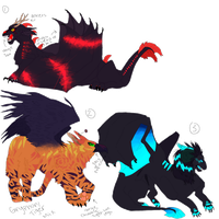 Adopts 5 (creature addition) by SimplyMisty