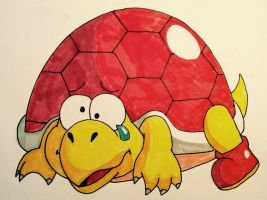 SMB collab Hookbill the Koopa by Iwatchcartoons715