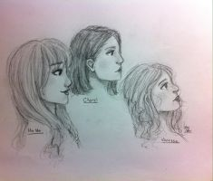 The Trio by KJStarLace