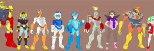 Classic Robot Masters 1 by Tyrranux