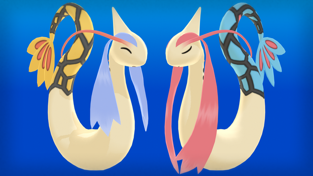 MMD PK Milotic DL by 2234083174