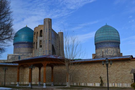 Samarkand City by sova-sova
