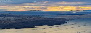 over the island Pag by ivancoric
