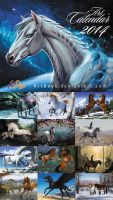 Horse Calendar 2014 by FlashW