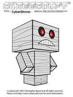 Cubeecraft - Mummy by CyberDrone