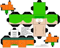 Cubee SOUTH PARK Kyle by njr75003
