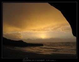 Christmas Eve in Punakaiki by Crooty