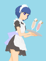 Naomi Will Be Your Waitress Today by SnipersCamperVan