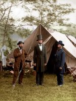 Abraham Lincoln Colorized by Micah Carey by micahcarey