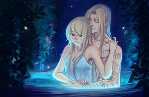 Commission - Winry and Pride by faithom