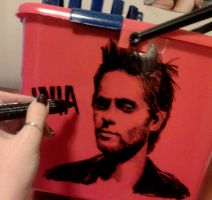 Jared Leto mop bucket by ingus91