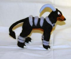 Houndoom Plushie by The-GoblinQueen