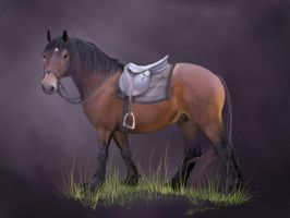Henry Horse by gothic180