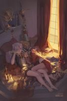 Carciphona: Attic by shilin