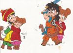 Gohan and chicio by kalynvalcourt