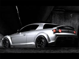 Mazda Rx8 by shappass