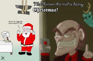 The Phantom that tried to destroy Xmas by SamuraiJo1