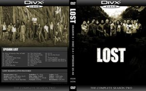 LOST Season 2 DVD Cover by by2on