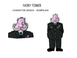 ivory towers rumpslain by stranger-than-me